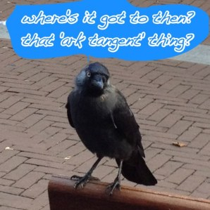 jackdaw on ark tangent