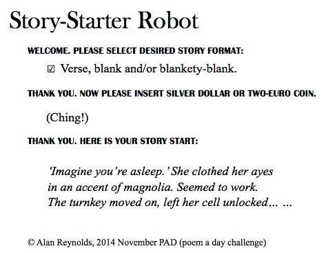 Story-Starter Robot