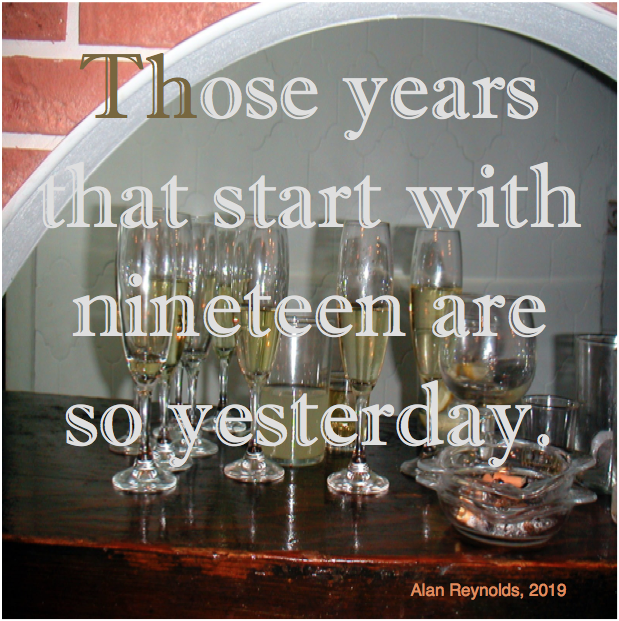 Those Years That Start with Nineteen